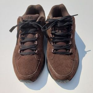 RYKA Brown/Black Suede Tennis Shoes 7.5W Wide